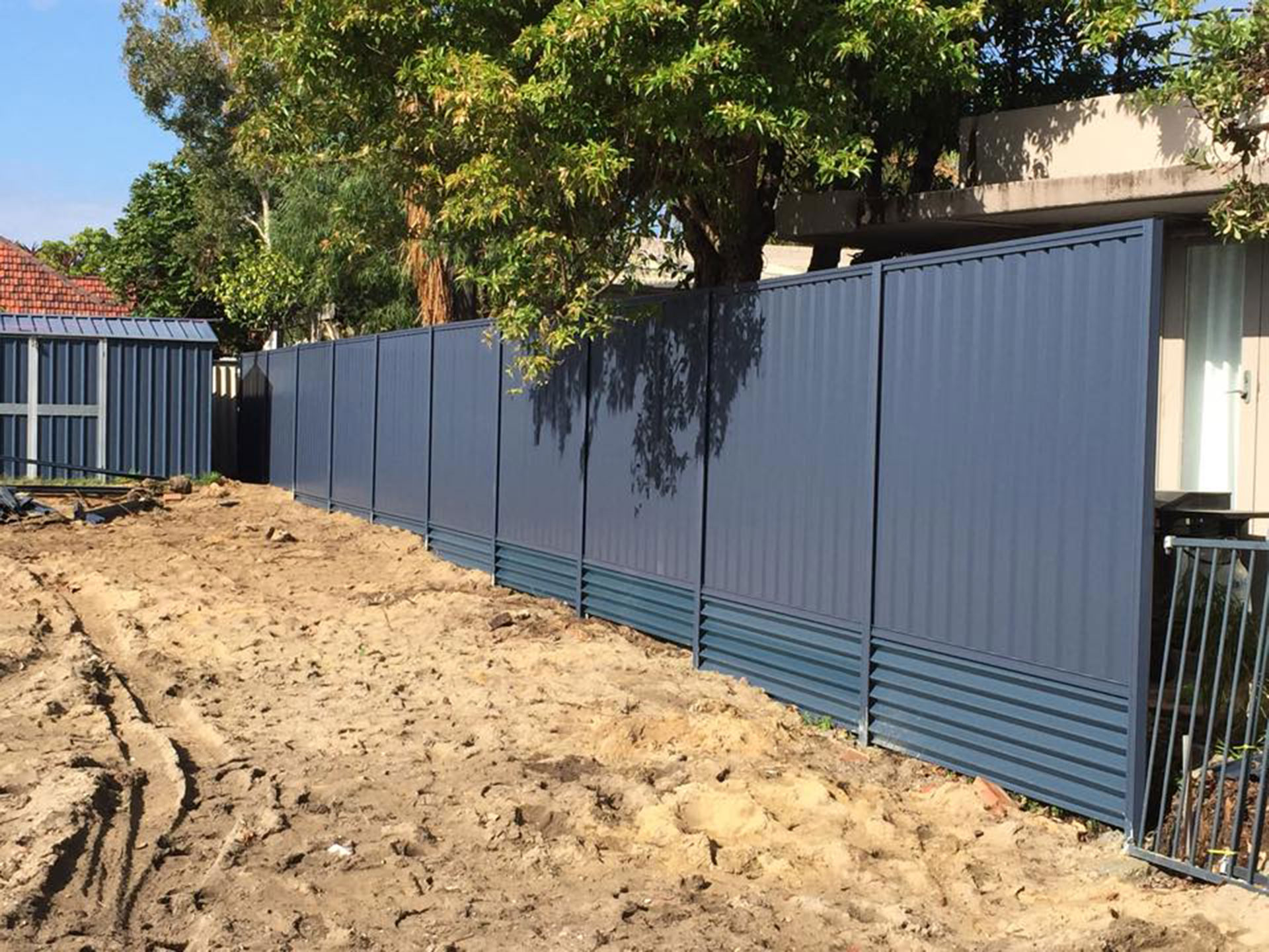 Stratco Colorbond Fence Sheets